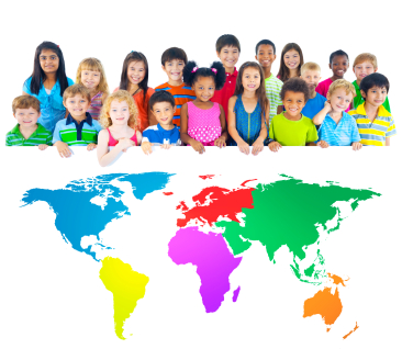 Multicultural Children and The World