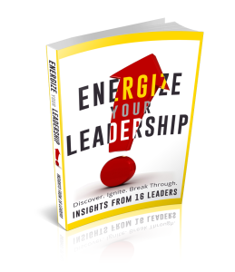 Energize Your Leadership Book