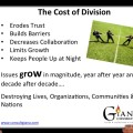 The cost of division