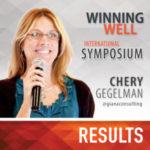 Chery Gegelman Winning Well International Symposium