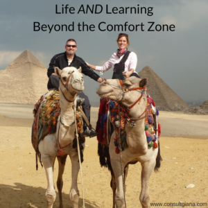 Life and Learning Beyond the Comfort Zone