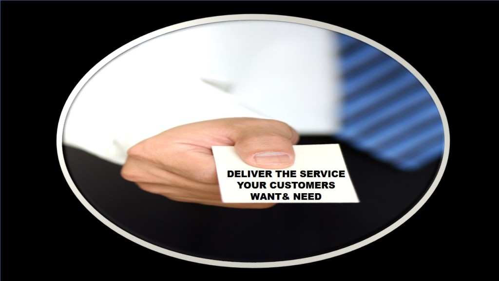 Deliver customer service