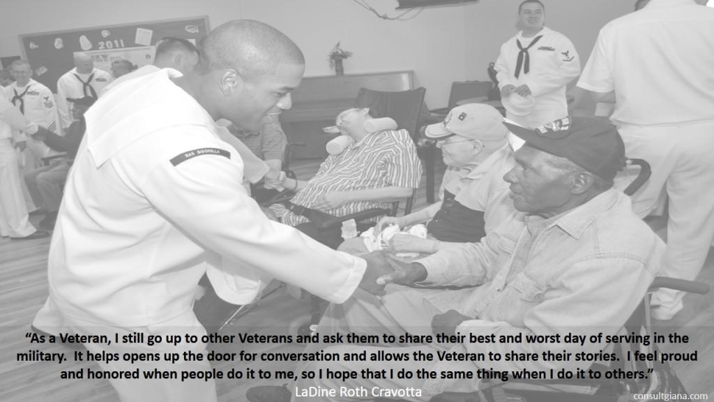 As a Veteran