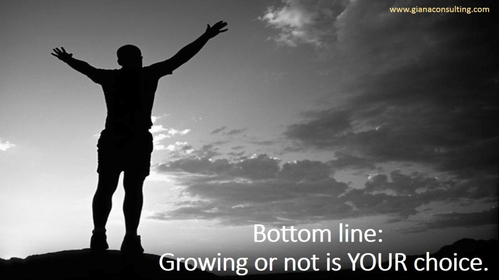 Bottom Line  Growing or not is your choice
