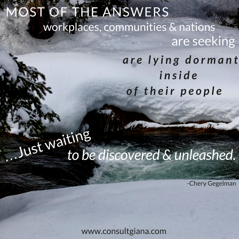 The answers you are seeking are lying dormant waiting to be released.