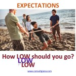 EXPECTATIONS - How low should you go?