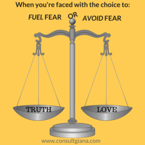 Balance truth with love