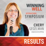 Chery Gegelman Winning Well International Symposium